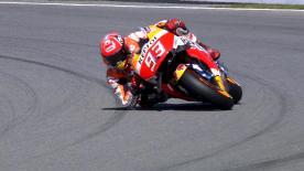 Il pilota HRC si impone in qualifica e firma la pole davanti a Lorenzo. Terzo è Iannone con Valentino in seconda fila.