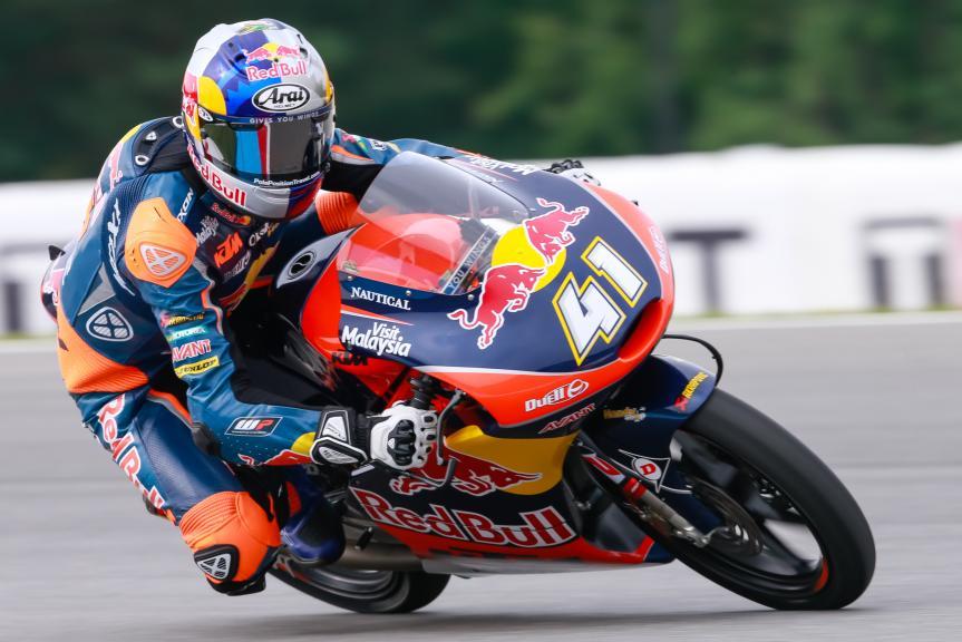 Brad Binder, Red Bull KTM Ajo, HJC Helmets Grand Prix České republiky