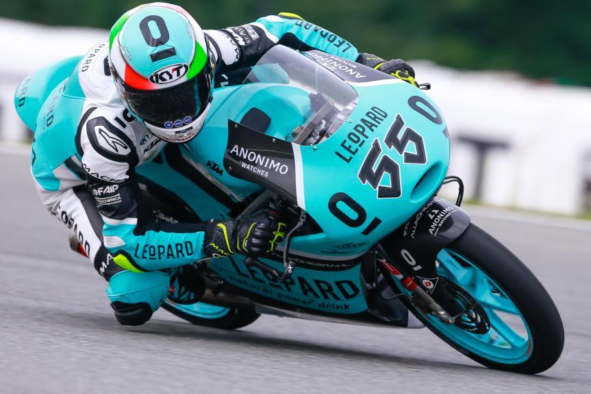 Andrea Locatelli, Leopard Racing, HJC Helmets Grand Prix České republiky