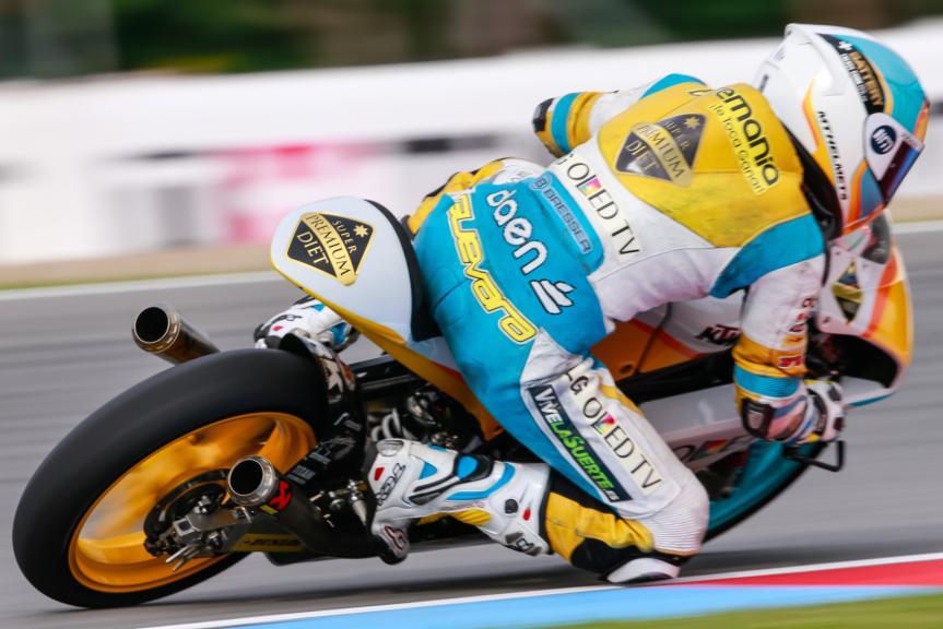 Juanfran Guevara, RBA Racing Team, HJC Helmets Grand Prix České republiky