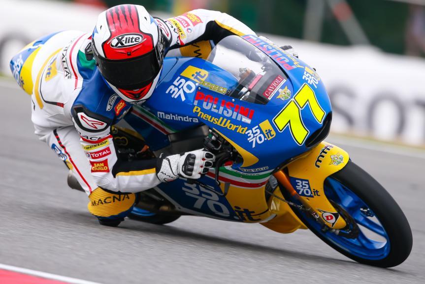 Lorenzo Petrarca, 3570 Team Italia, HJC Helmets Grand Prix České republiky