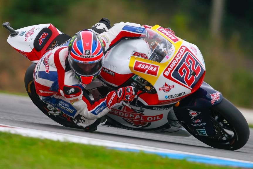 Sam Lowes, Federal Oil Gresini Moto2, HJC Helmets Grand Prix České republiky