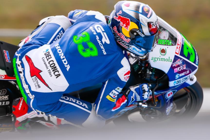 Enea Bastianini, Gresini Racing Moto3, HJC Helmets Grand Prix České republiky