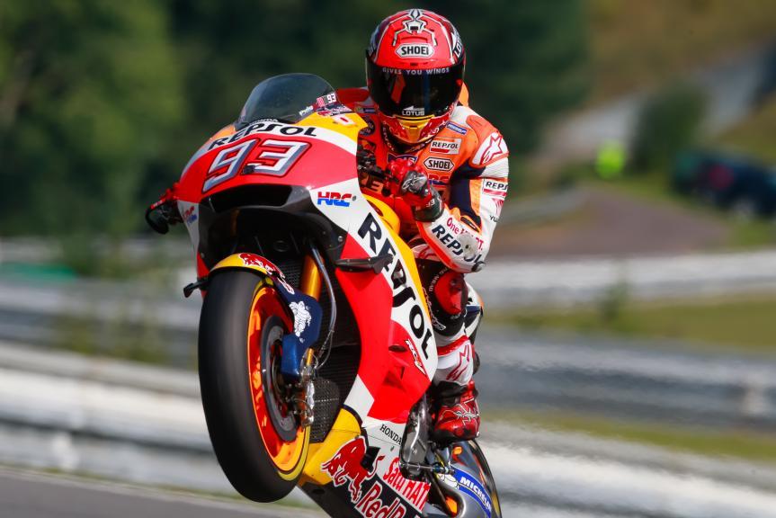 Marc Marquez, Repsol Honda Team, HJC Helmets Grand Prix České republiky