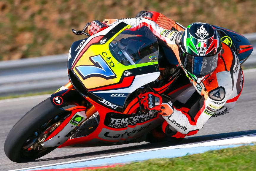 Lorenzo Baldassarri, Forward Team, HJC Helmets Grand Prix České republiky