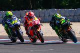 Marc Marquez, Valentino Rossi, Pol Espargaro, HJC Helmets Grand Prix České republiky