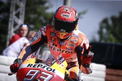 Marquez bahnt sich den Weg zur Pole