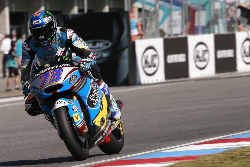 Alex Marquez, Estrella Galicia 0,0 Marc VDS, HJC Helmets Grand Prix České republiky