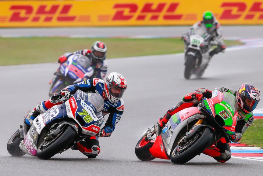 Stefan Bradl, Loris Baz, HJC Helmets Grand Prix České republiky