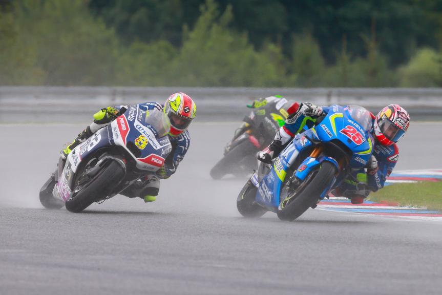 Hector Barbera, Maverick Viñales, HJC Helmets Grand Prix České republiky