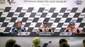 Los mejores pilotos del día en MotoGP™ hablan de sus resultados en carrera.