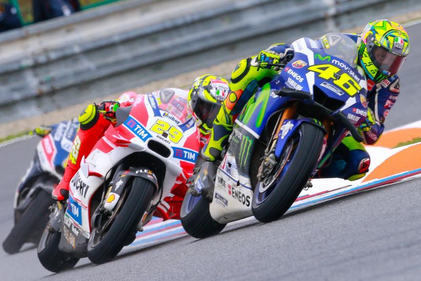 Andrea Iannone, Ducati Team, Valentino Rossi, HJC Helmets Grand Prix České republiky