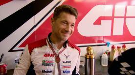 LCR Honda Teammanager Lucio Cecchinello beschreibt wie es in Brünn war, Cal Crutchlow den ersten MotoGP™ Sieg für das Team holen zu sehen.