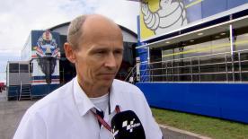 El director técnico de Michelin Racing, Nicolas Goubert, habla sobre la actuación de los neumáticos en #CzechGP.