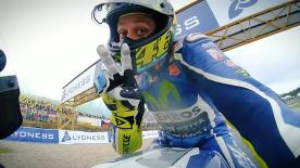 Valentino Rossi and Jorge Lorenzo both opted for the hard rear tyre in Brno, a gamble that saw two very different results for the teammates.
