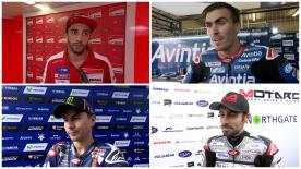The fastest MotoGP™ riders give us feedback on their race results at the #CzechGP.
