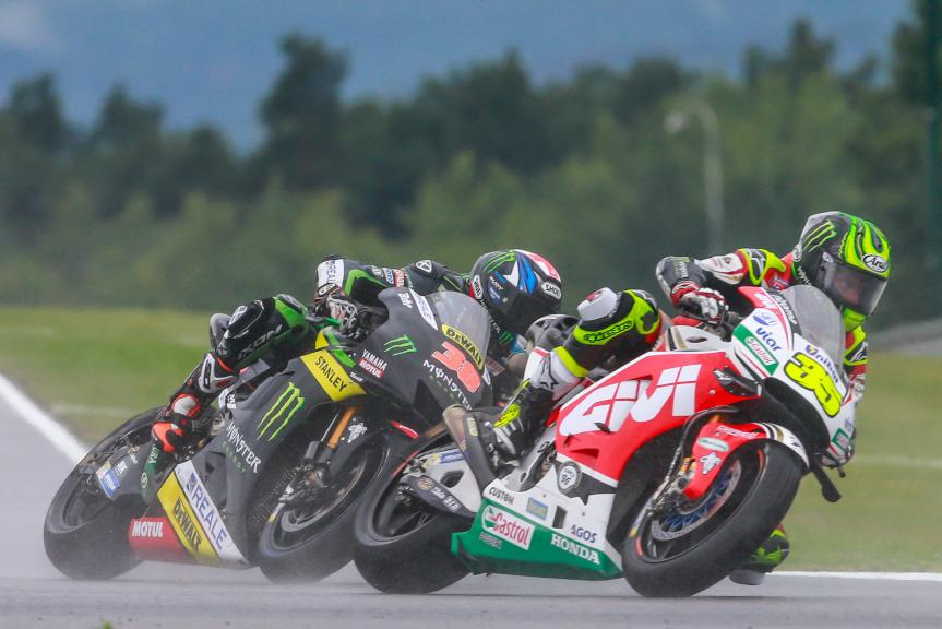 Cal Crutchlow, Bradley Smith, HJC Helmets Grand Prix České republiky
