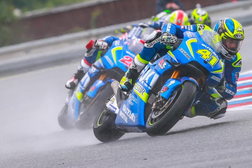 Aleix Espargaro, Team SUZUKI ECSTAR, HJC Helmets Grand Prix České republiky