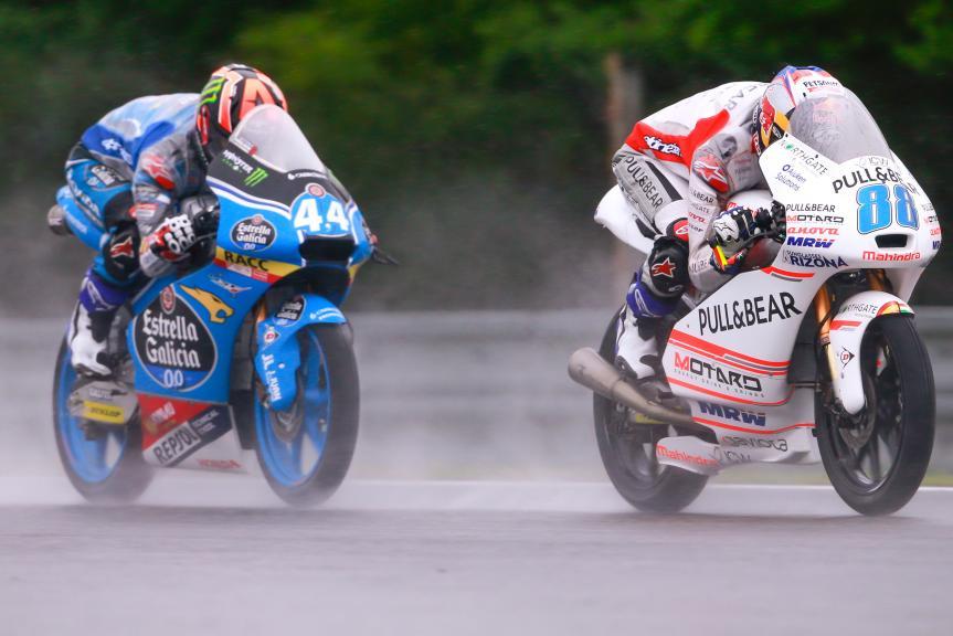 Aron Canet, Jorge Martin, HJC Helmets Grand Prix České republiky