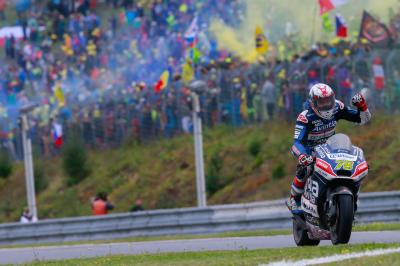 Baz and Barbera give Avintia a dream double top 5