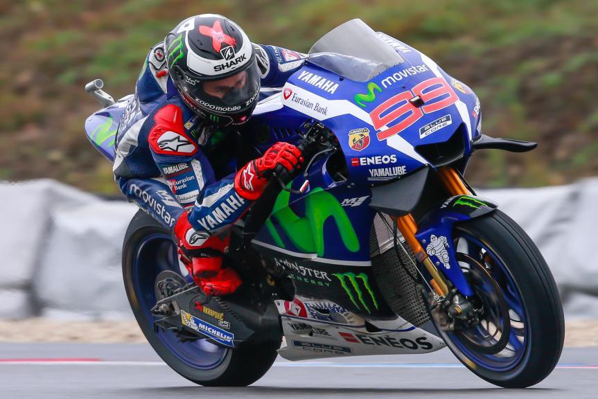 Jorge Lorenzo, Movistar Yamaha MotoGP, HJC Helmets Grand Prix České republiky