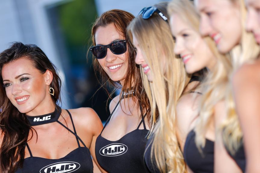 Paddock Girls, HJC Helmets Grand Prix České republiky