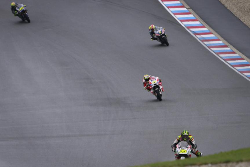 Cal Crutchlow, Andrea Iannone, Valentino Rossi, HJC Helmets Grand Prix České republiky