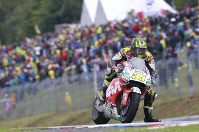 Crutchlow charges through to make history