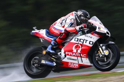 Redding im MotoGP™ Warm-Up vorn