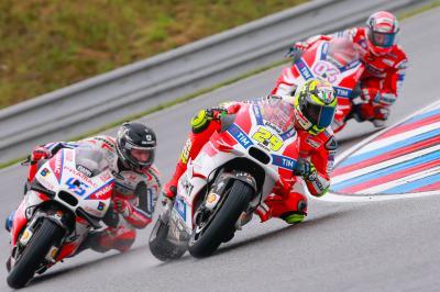 Iannone: «Je suis déçu de l'issue de la course»