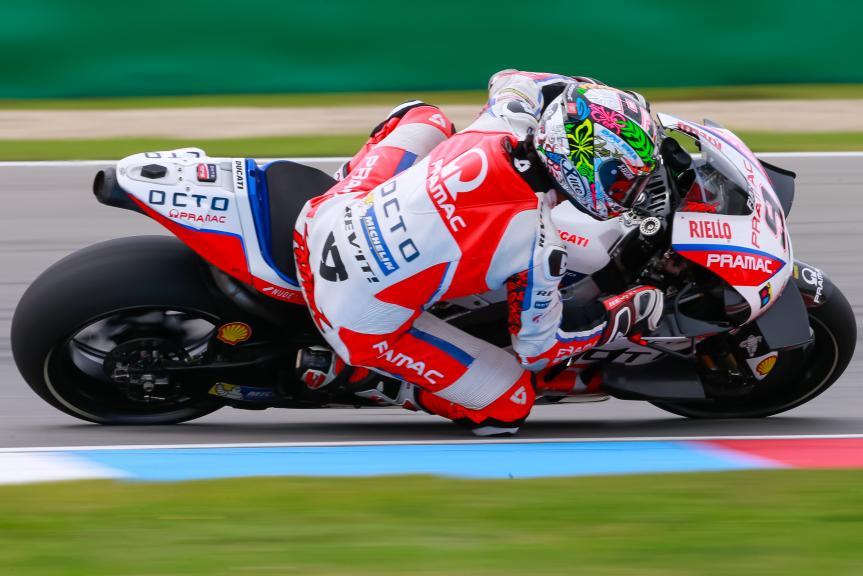 Danilo Petrucci, OCTO Pramac Yakhnich, České republiky MotoGP Official Test