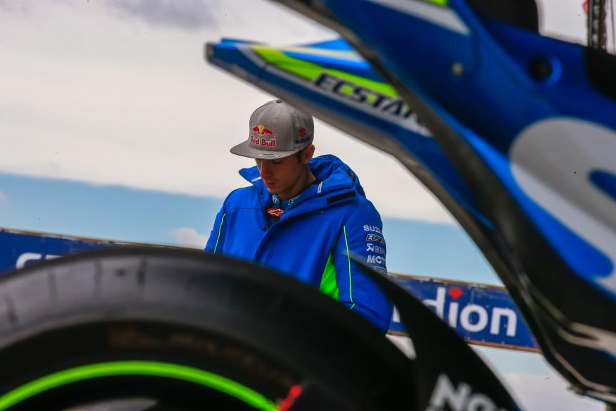 Maverick Viñales, Team SUZUKI ECSTAR, České republiky MotoGP Official Test