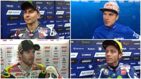 Varios de los pilotos de MotoGP™ dan su opinión sobre lo acontecido hoy en Brno.
