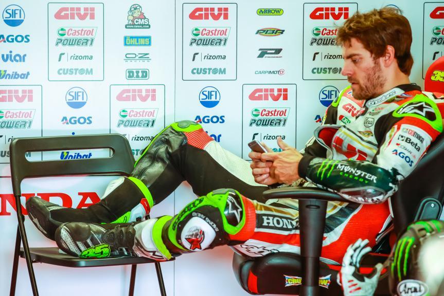 Cal Crutchlow, LCR Honda, České republiky MotoGP Official Test