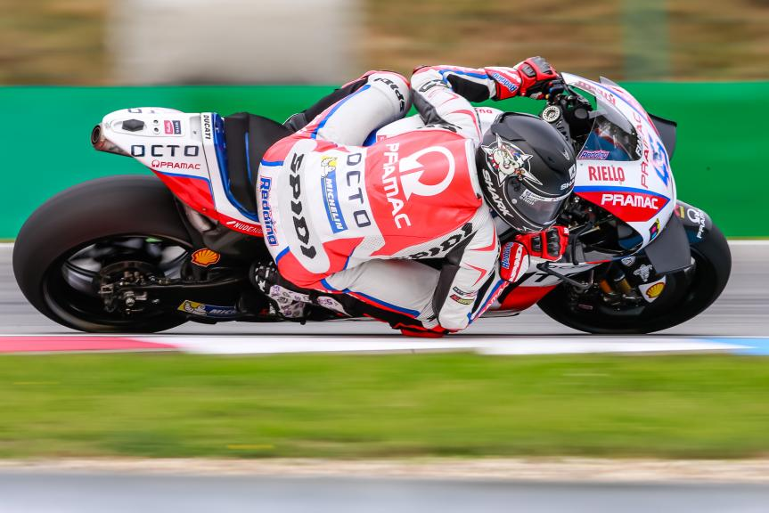 Scott Redding, OCTO Pramac Yakhnich, České republiky MotoGP Official Test