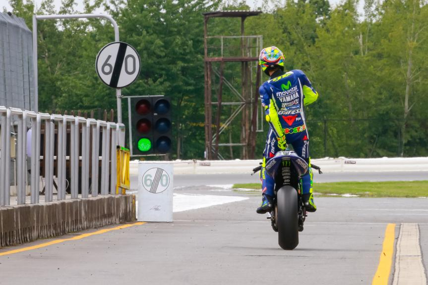 Valentino Rossi, Movistar Yamaha MotoGP, České republiky MotoGP Official Test