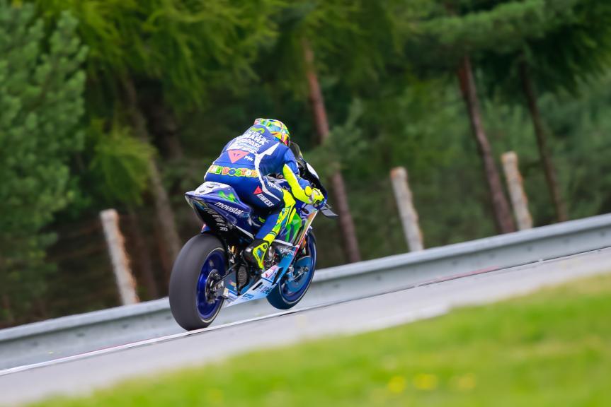 Valentino Rossi, Movistar Yamaha MotoGP, České republiky MotoGP Official Test