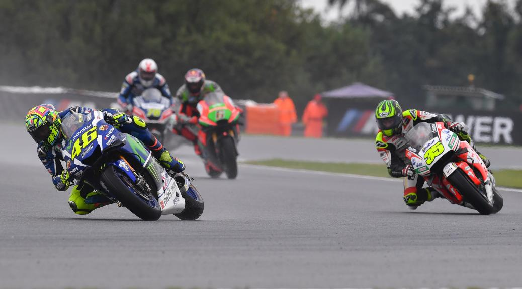 Valentino Rossi, Movistar Yamaha MotoGP and Cal Crutchlow, LCR Honda, HJC Helmets Grand Prix České republiky