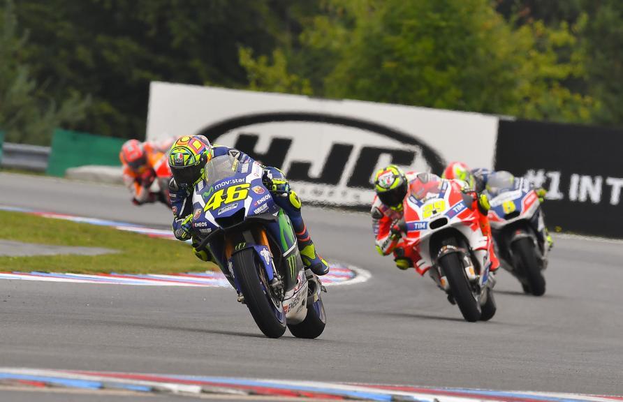 Valentino Rossi, Movistar Yamaha MotoGP, HJC Helmets Grand Prix České republiky