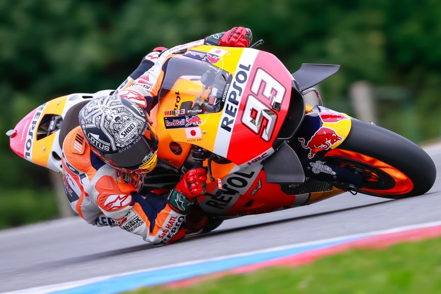 Marc Marquez, Repsol Honda Team, České republiky MotoGP Official Test