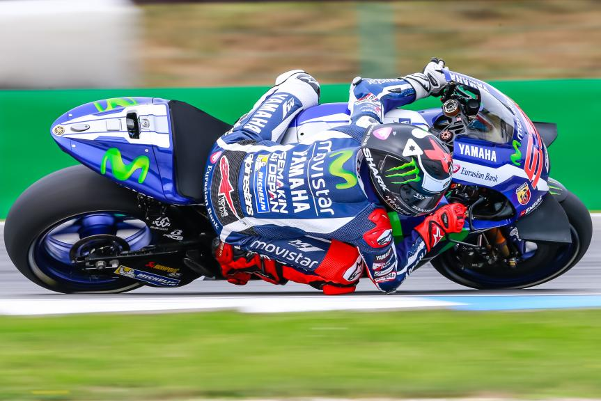 Jorge Lorenzo, Movistar Yamaha MotoGP, České republiky MotoGP Official Test