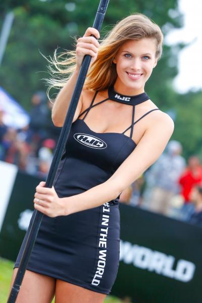 Las chicas del paddock en #CzechGP