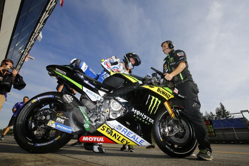Alex Lowes, České republiky MotoGP Official Test