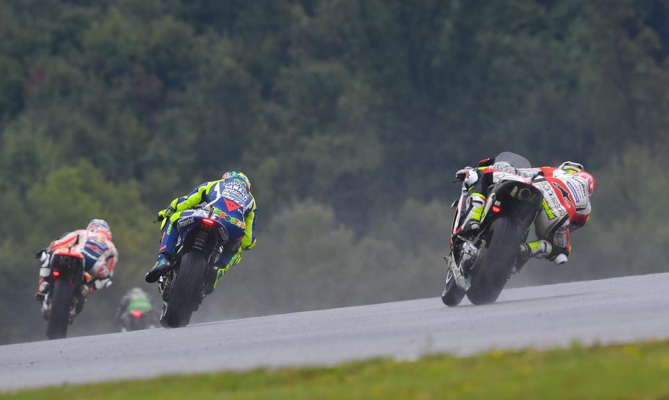Cal Crutchlow, LCR Honda and Valentino Rossi, Movistar Yamaha MotoGP, HJC Helmets Grand Prix České republiky