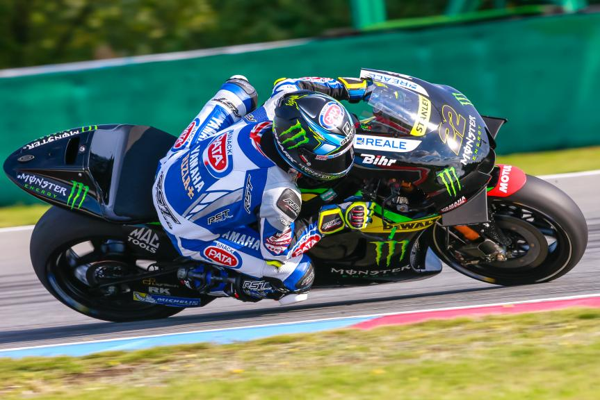 Alex Lowes, České republiky MotoGP Official Test