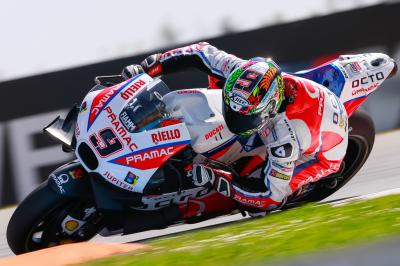 Petrucci wanted more from Brno race