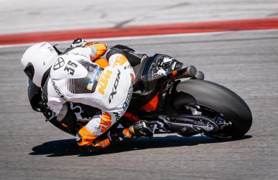 KTM run intensive test at Misano