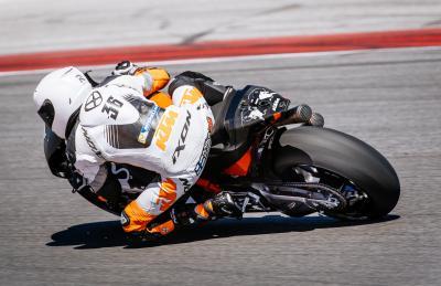 KTM boucle une nouvelle session d'essais à Misano