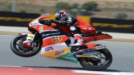 Resumen de la primera carrera FIM CEV Repsol Moto2 en el Circuito del Algarve.
