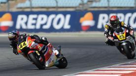 Resumen de la segunda carrera FIM CEV Repsol Moto2 en el Circuito del Algarve.